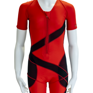 DMO® Custom Postural Scoliosis Suit from front