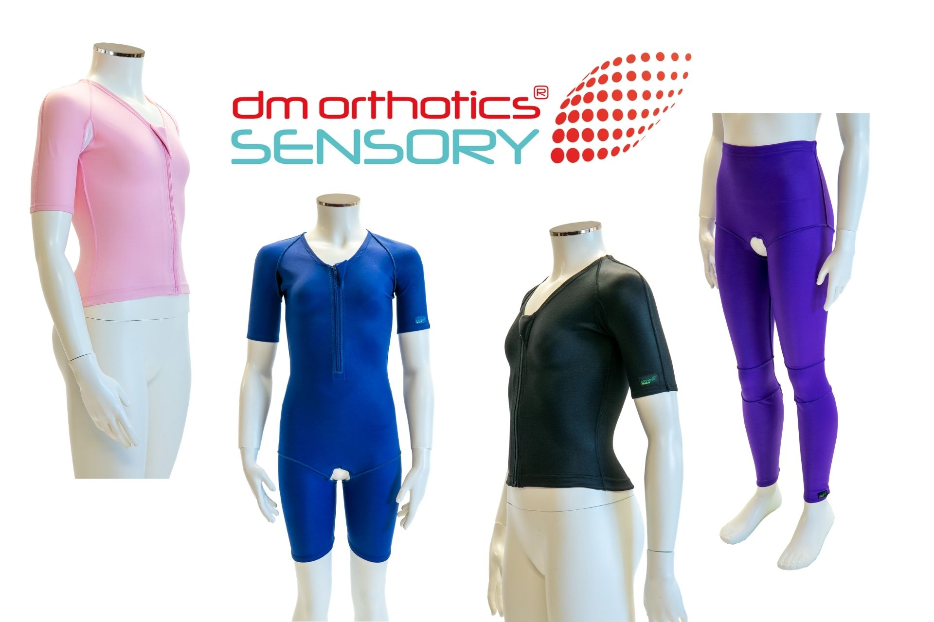 The new DMO Sensory vest, suit and leggings