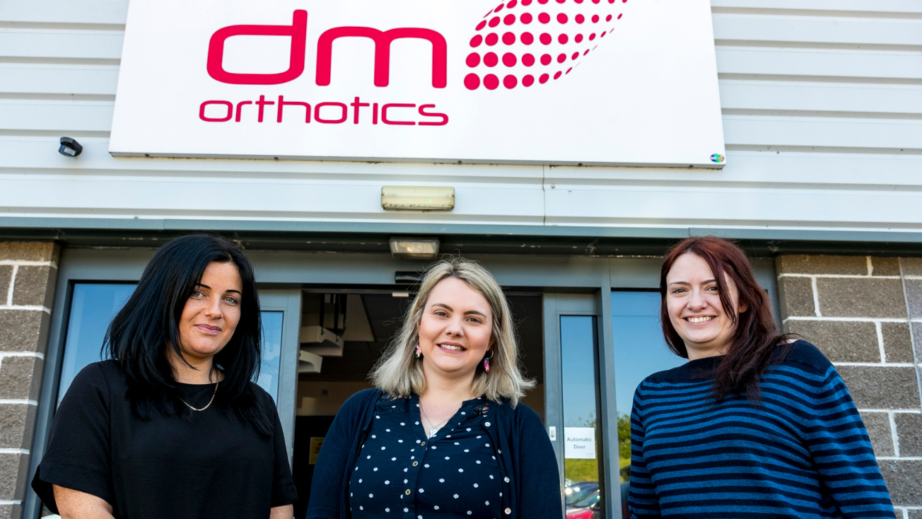 DM Orthotics Pattern Cutters Ella, Holly and Charlotte